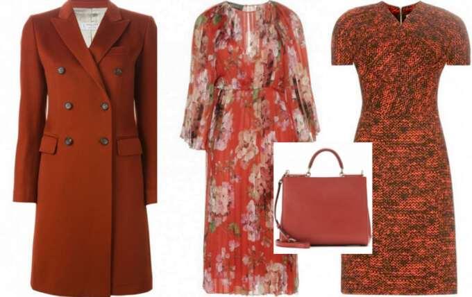 пальто платье и сумка