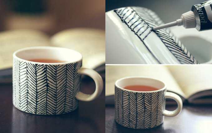 чашка для любимого супруга своими руками