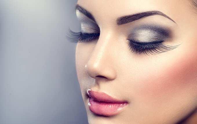 Новогодний красивый макияж на Новый год 2017