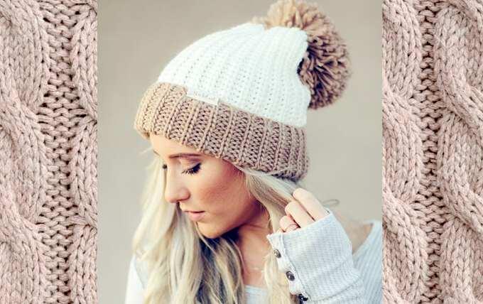 33 Связать женскую шапку для осени