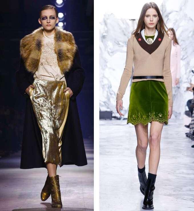 Какой фасон юбок будет модный в 2017 году