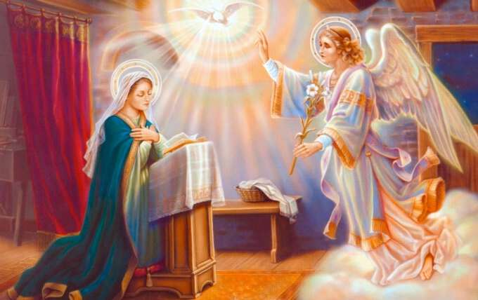Свято Благовіщення Пресвятої Богородиці в 2017 році
