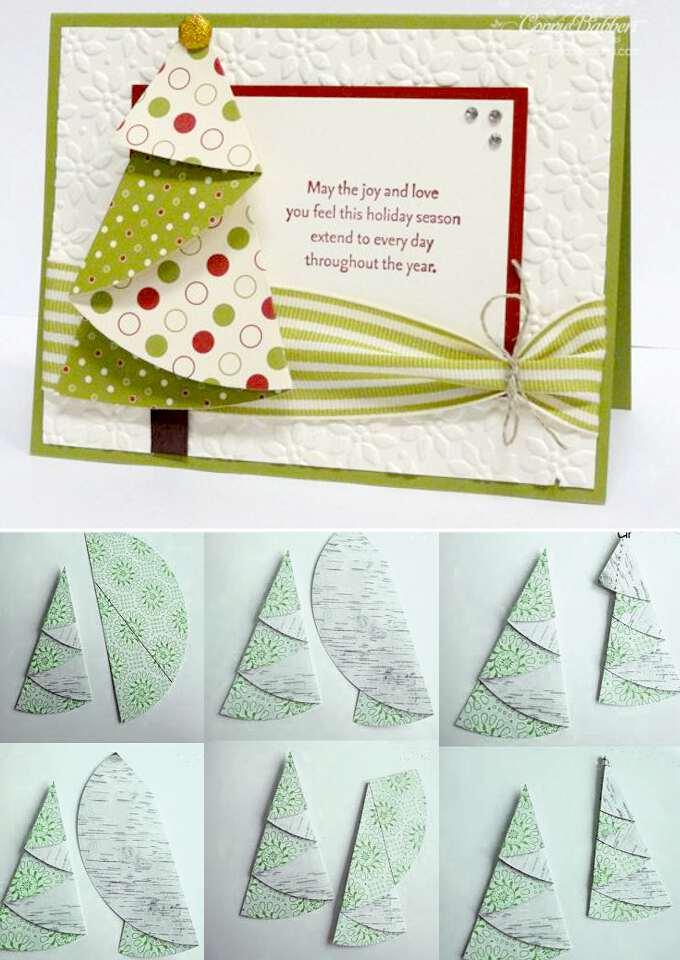 пошаговая инструкция по изготовлению открытки