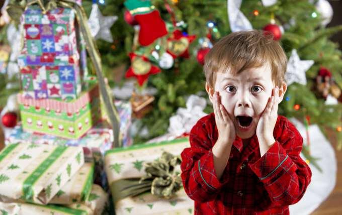 Подарок на новый год 2017 для детей