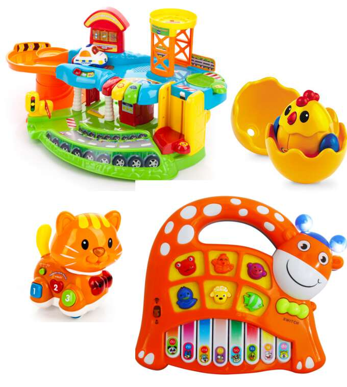развивающие игрушки для ребенка от 1 до 3-х лет
