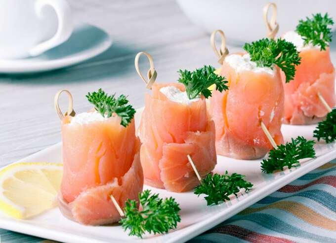 рыбный ролы с сыром