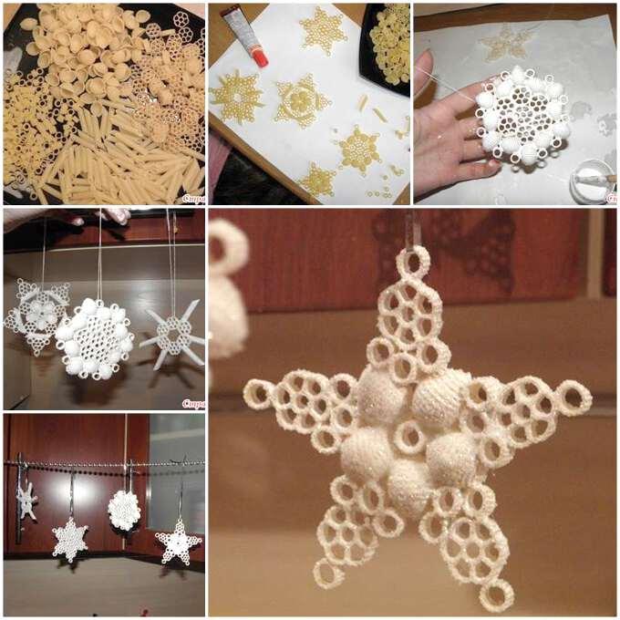 Креативная снежинка как сделать