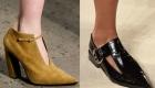обувь с узкими носками