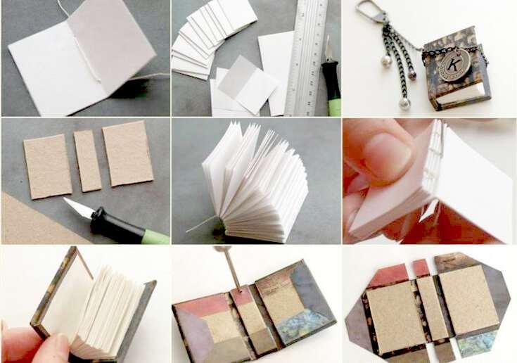 Как сделать маленькую мини оригами КНИЖКУ из. - Pinterest