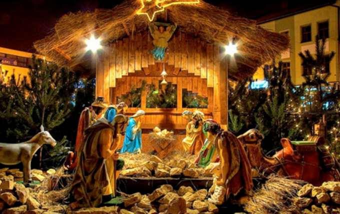 рождественская инсталяция