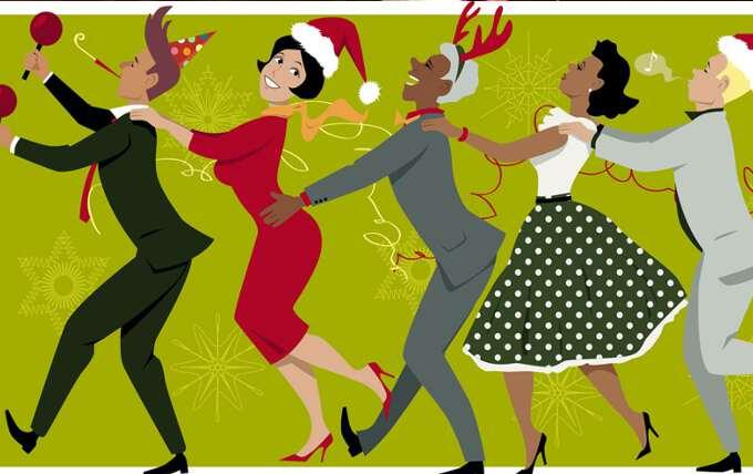 шуточные новогодние танцы