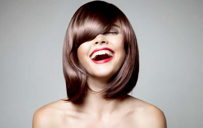 Стрижка на тонкие волосы до подбородка фото