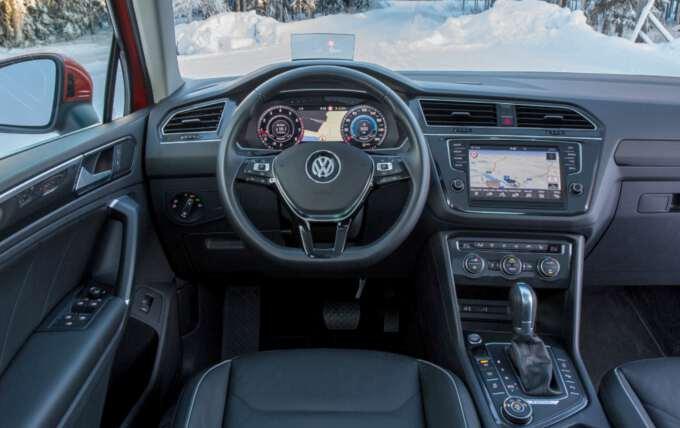 салон Volkswagen Tiguan 2017