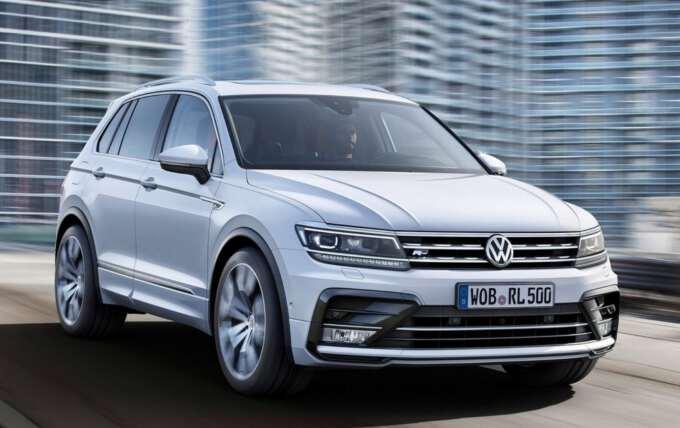 Оновлений Volkswagen Tiguan 2017 року