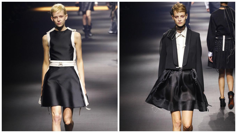 черные юбки 10-61