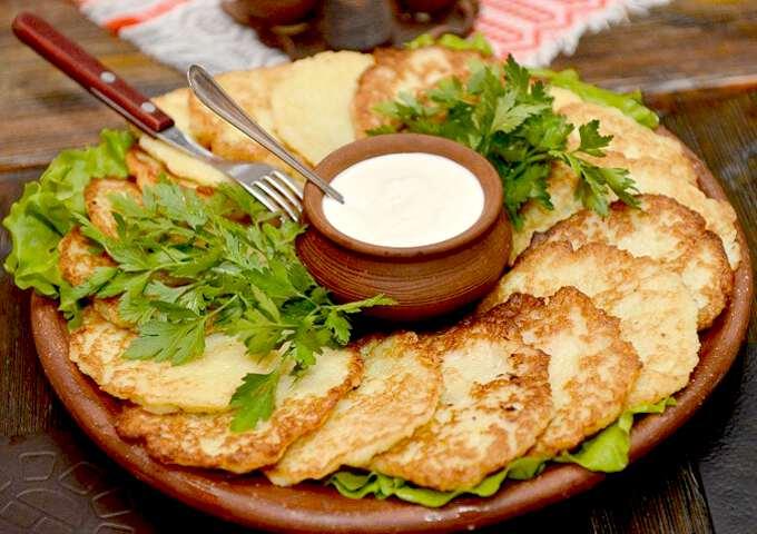 традиционное блюдо Драники