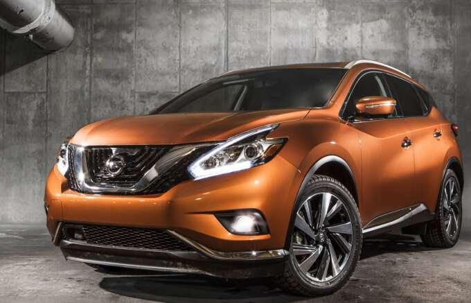 обновленная модель Nissan Murano