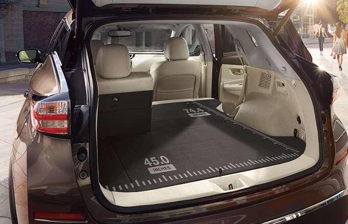 багажник Nissan Murano