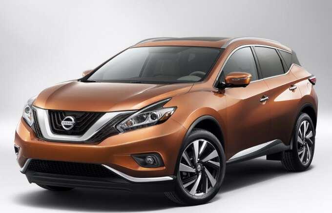 внешний вид Nissan Murano 2017 года выпуска