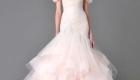 модное свадебное платье 2017 розового цвета
