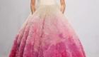 платье с розовым градиентом