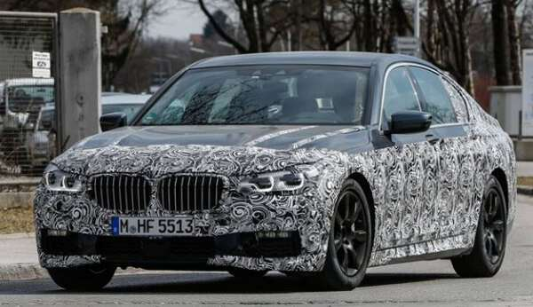 фото BMW 5 series в камуфляже