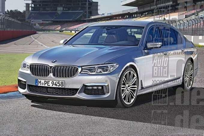 рендер BMW 5 series
