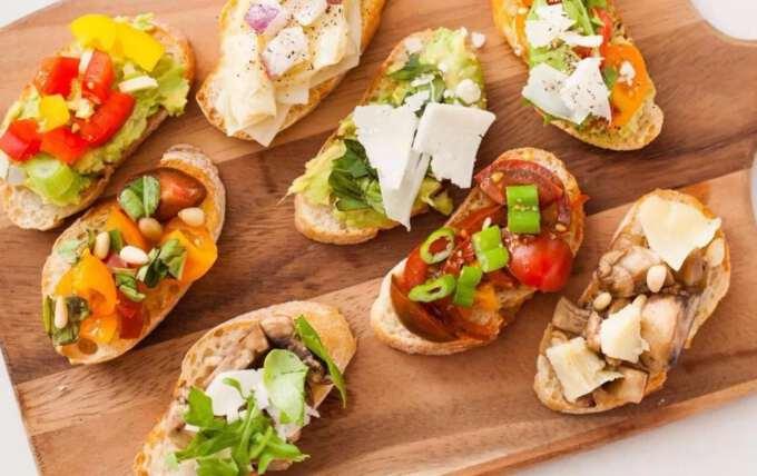 Рецепти бутербродів на святковий стіл 2017 року Червоного Півня