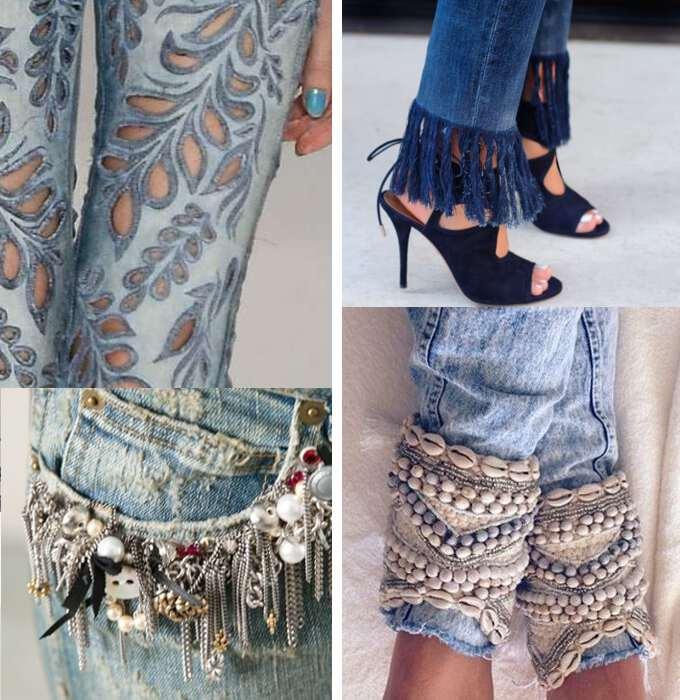 вышивка и цепочки