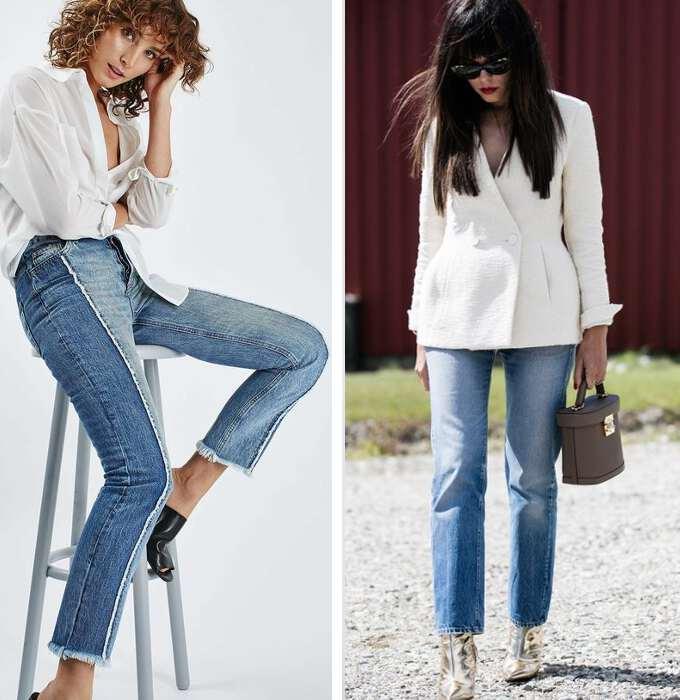 джинсы прямого кроя 2