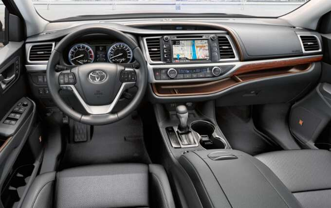 рулевое колесо Toyota Highlander