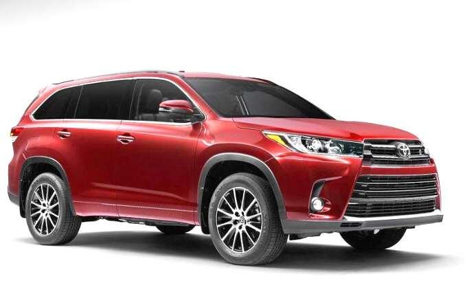 новая модель Toyota Highlander 2017 года