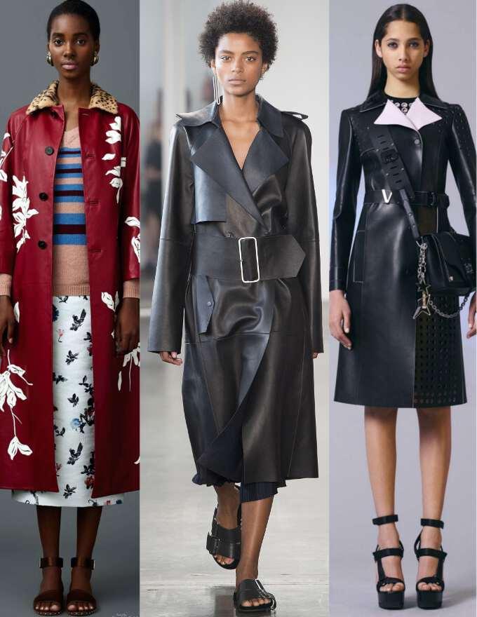 Модные плащи женские 2017
