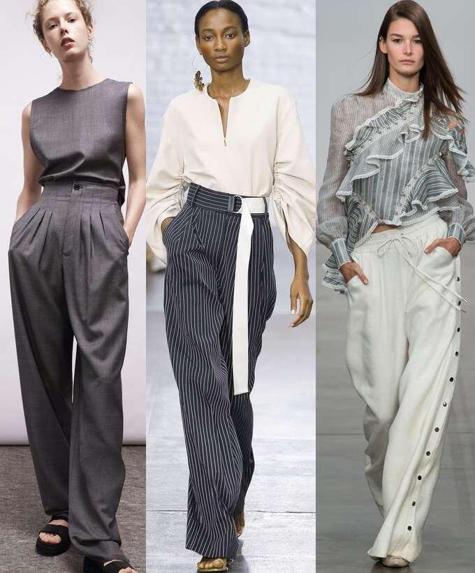 Мода брюки