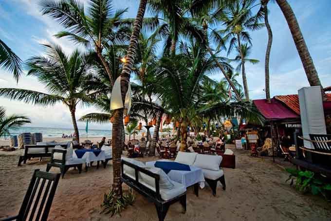 Кафе и рестораны возле моря