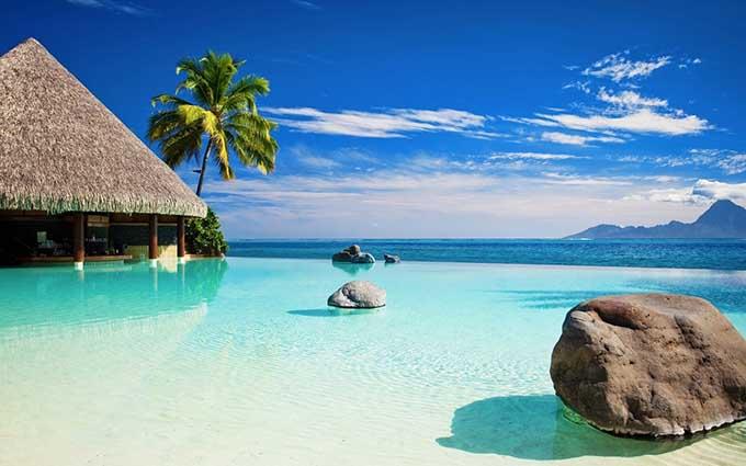 Восхитительный пляжный туризм