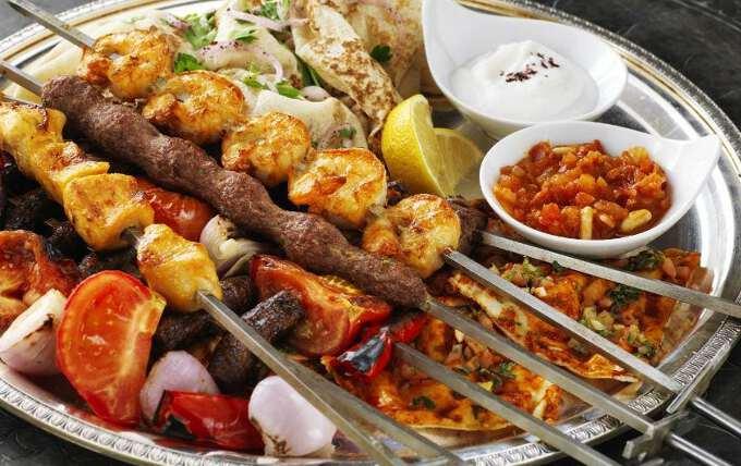 блюдо арабской кухни