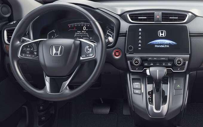 приборная панель Honda CR-V