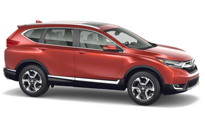 боковой вид Honda CR-V