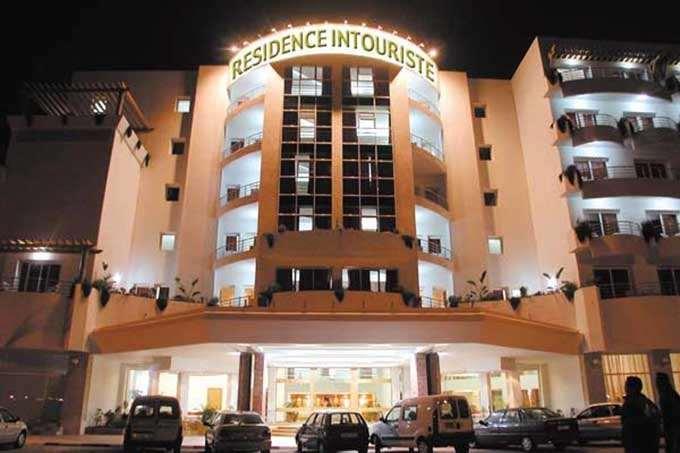 здание отеля Residence Intouriste
