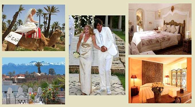 Свадебное путешествие в марокканском стиле