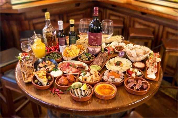 Рейтинговые рестораны Испании