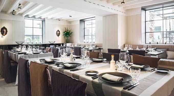 Ресторан Quadrat Restaurant на Майорке