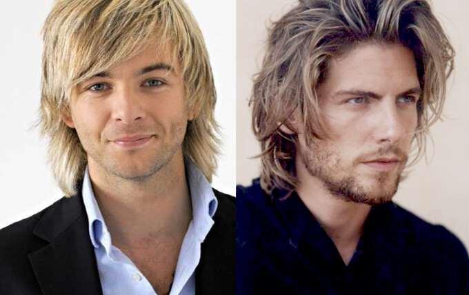 укладка для мужчин на длинные волосы