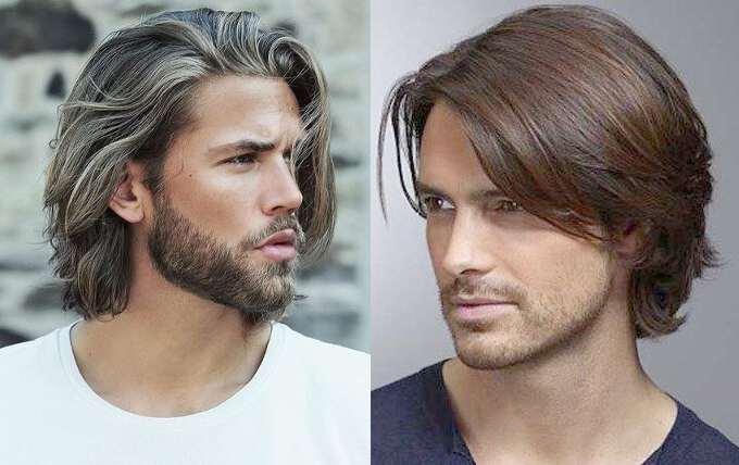 укладка для мужчин на средние волосы