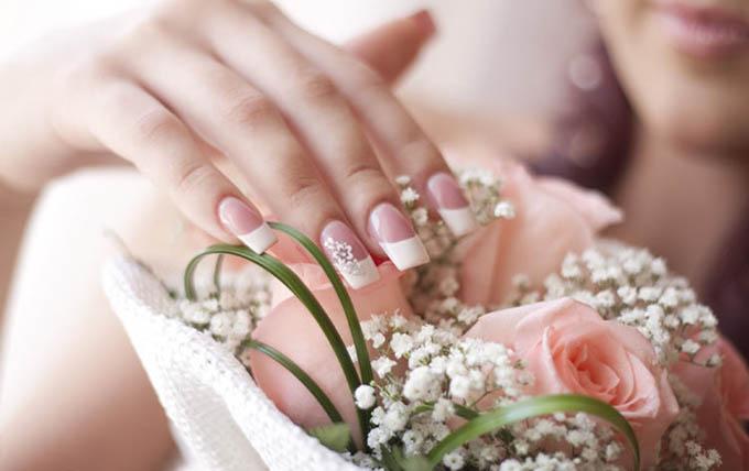 Картинки по запросу свадебный маникюр 2017