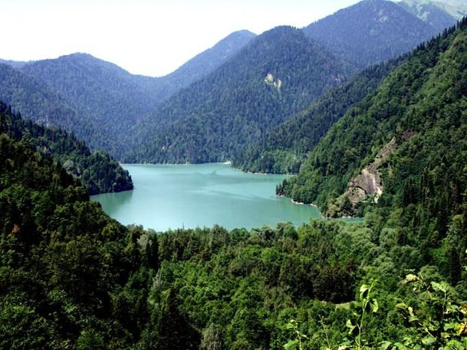 Курорт в Абхазии