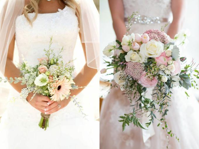 Букет невесты фото 2017 из живых цветов бело-сиреневый