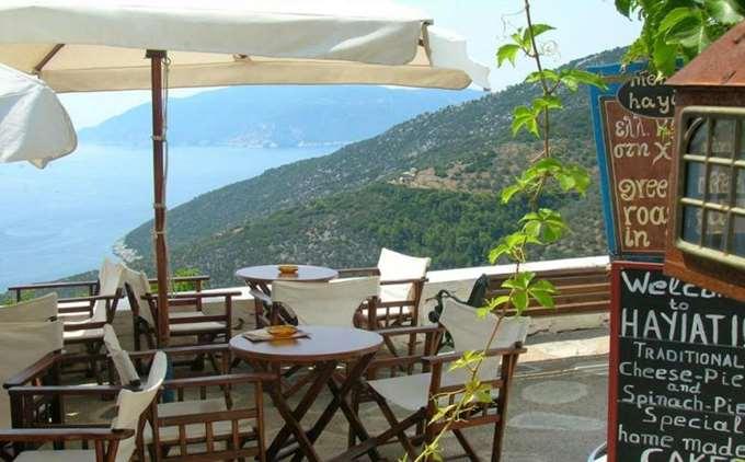 Ресторан Hagiati на Крите