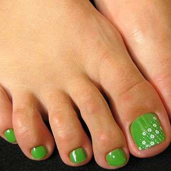 Весенний зелёный дизайн